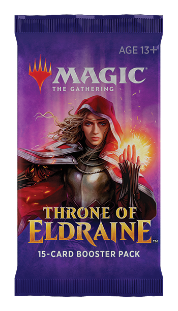 MTG Throne of Eldraine Draft Booster