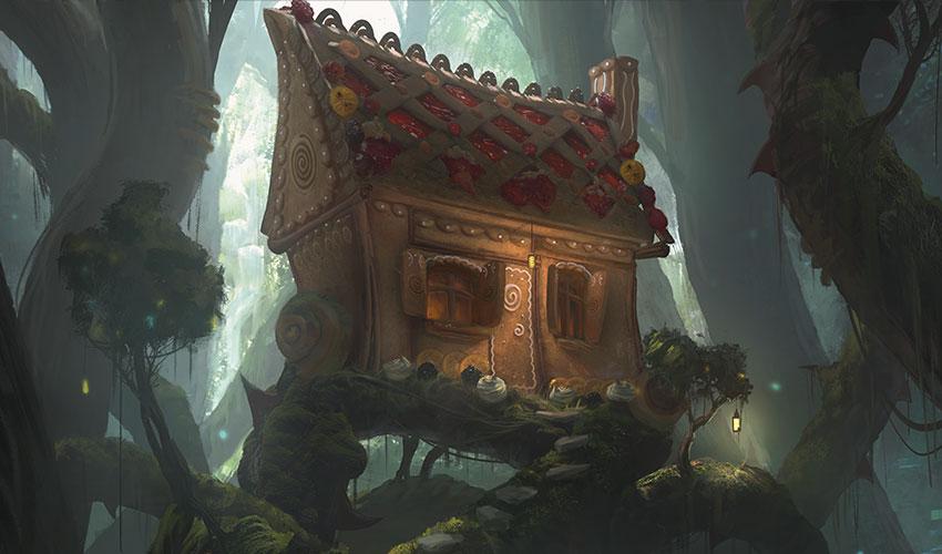 MTG Throne of Eldraine casa de dulces