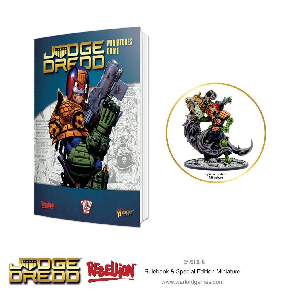 Judge Dredd juego de miniaturas Reglamento