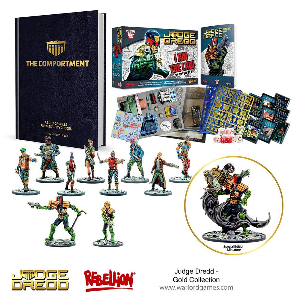 659910007 Resized Judge Dredd Gold Collection