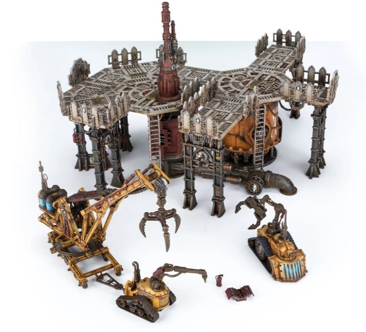 Industrial forge world