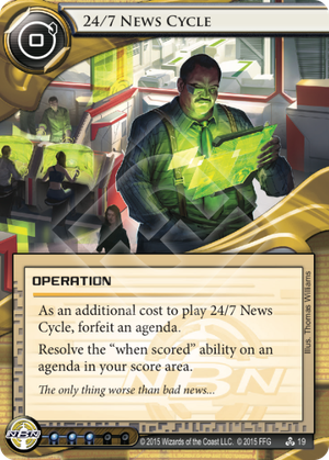 Netrunner 24 7 news cycle