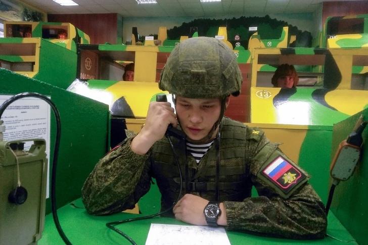 Rusia entrenamiento con wargames comandante radio