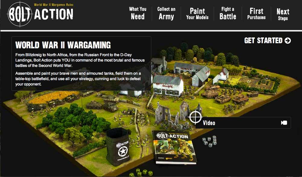 Sitio Web de Bolt Action