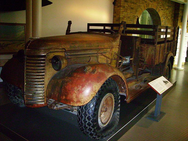 Chevrolet WB CWT 30 Recuperado del desierto y exhibido en un Museo de Londres