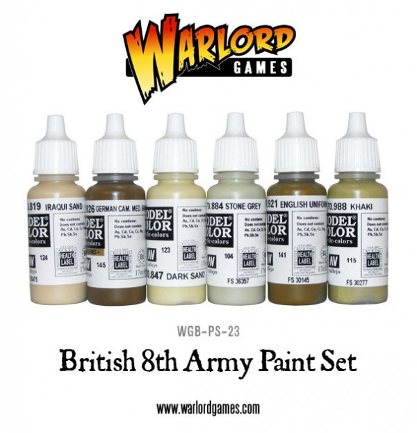 Pinturas Vallejo Model Color British 8th Army