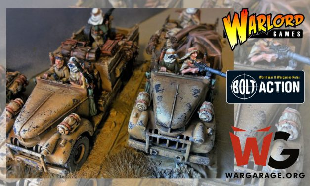 Guía de pintura de Long Range Desert Group LRDG para Bolt Action