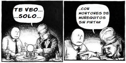 TE VEO SOLO CON MONTONES DE MINIATURAS SIN PINTAR