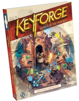 keyforge secrets crucible portada