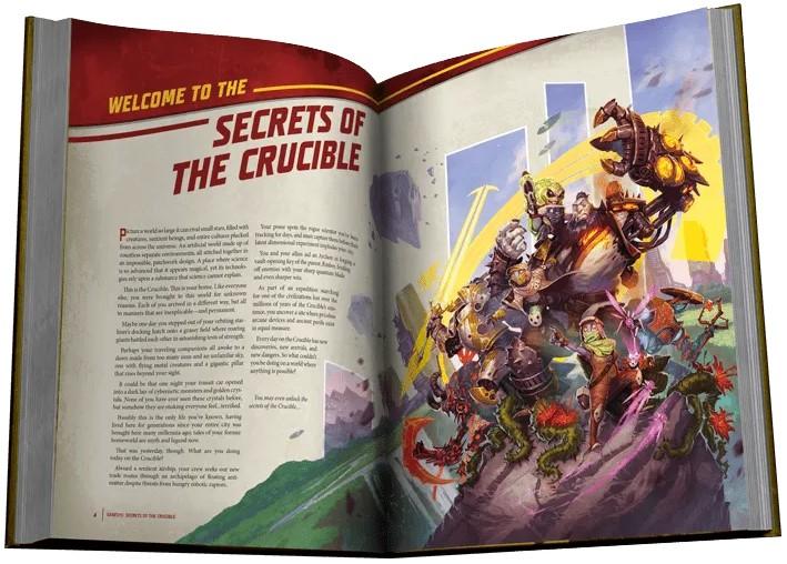 keyforge secrets crucible