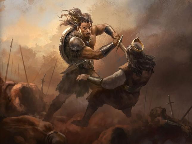 conan the king fighting