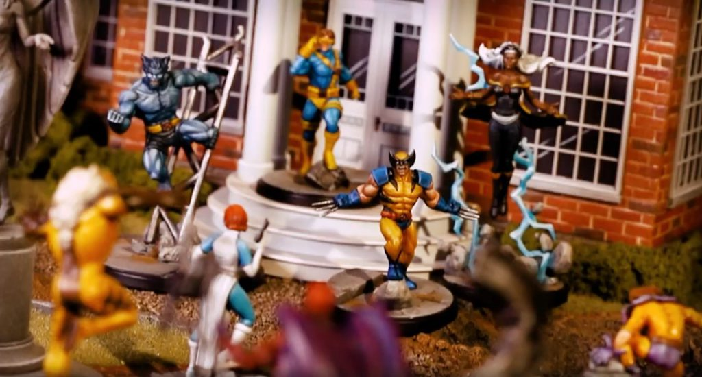 Marvel Crisis Protocol X Men vs Hermandad Mutante 2