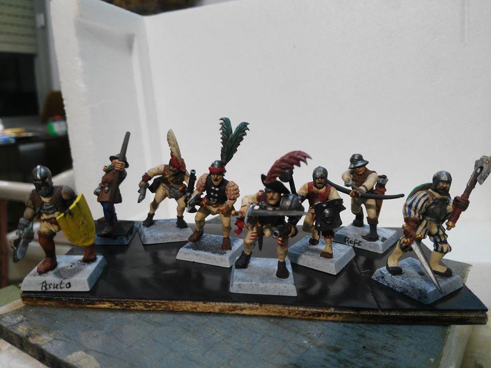 Mordheim Mercenarios Reikland de Hugo Ruiz Trejo