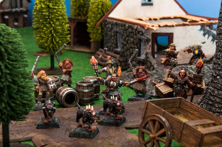 Mordheim Cazadores de Brujas ManufaktuGra en la BGG