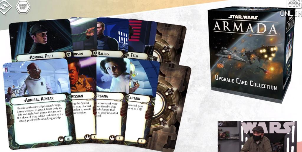 fantasy flight games inflight report star wars Armada Colección de cartas de actualización