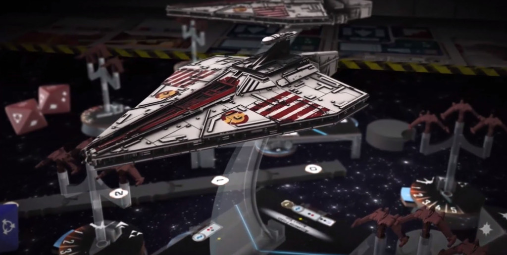 fantasy flight games inflight report star wars Armada Galactic Republic Fleet Starter