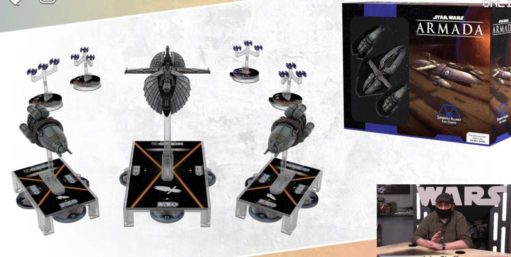 fantasy flight games inflight report star wars Armada Separatists Fighter Squadrons content