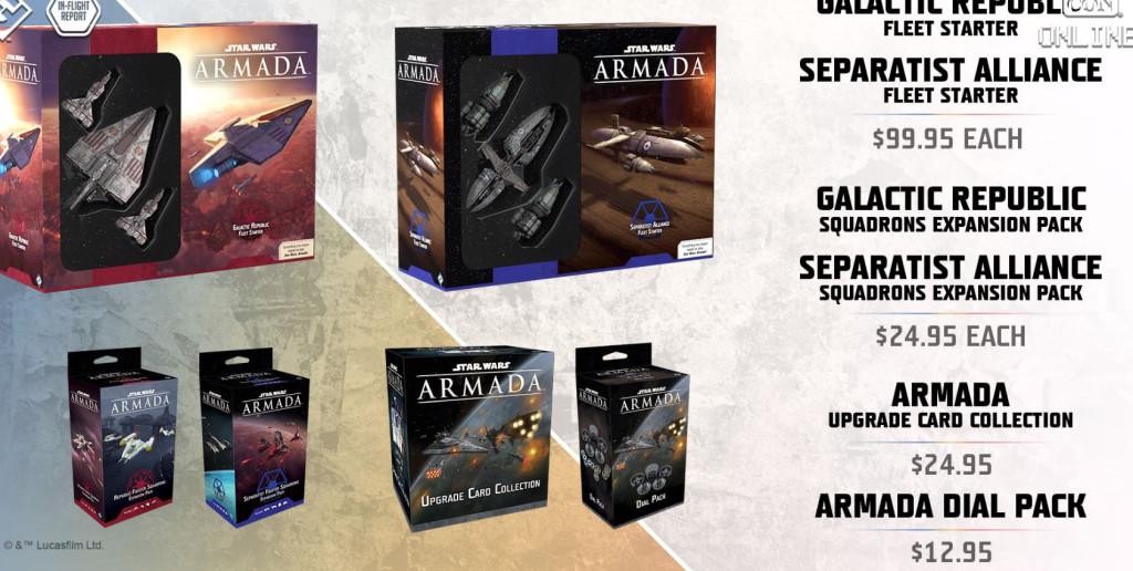 fantasy flight games inflight report star wars Armada precio novedades