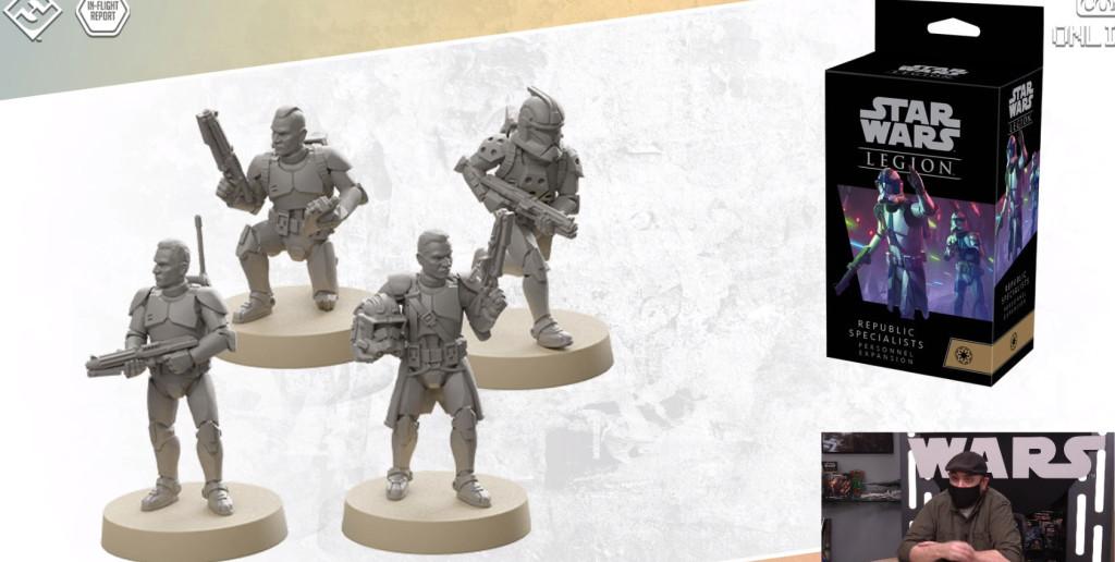 fantasy flight games inflight report star wars legion Republic Specialists Personnel 2 opciones