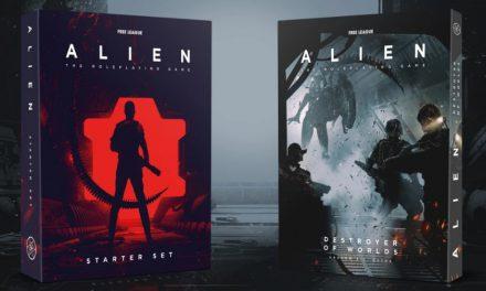👨🏼🚀👽 ALIEN RPG: Destroyer of Worlds y Caja de Inicio, juego de rol GEN CON 2020