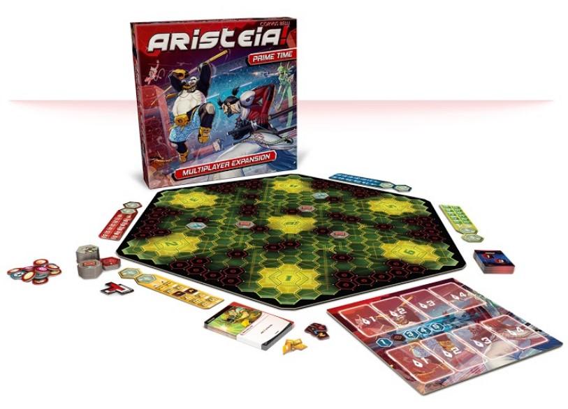 Aristeia! Prime Time, Caja y contenido