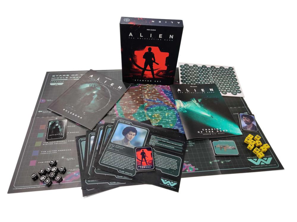 Alien RPG Juego de rol Caja de Inicio
