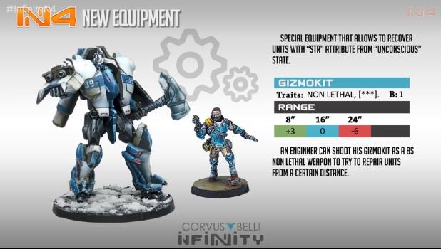 Infinity N4 Gizmokit, nuevo equipo