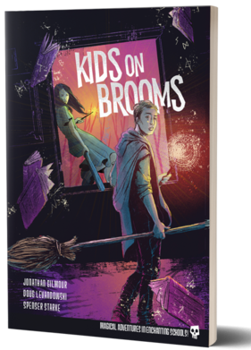 Kids on Brooms RPG juego de rol estilo Harry Potter
