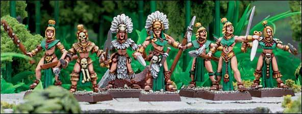 Mordheim Bandas Amazonas