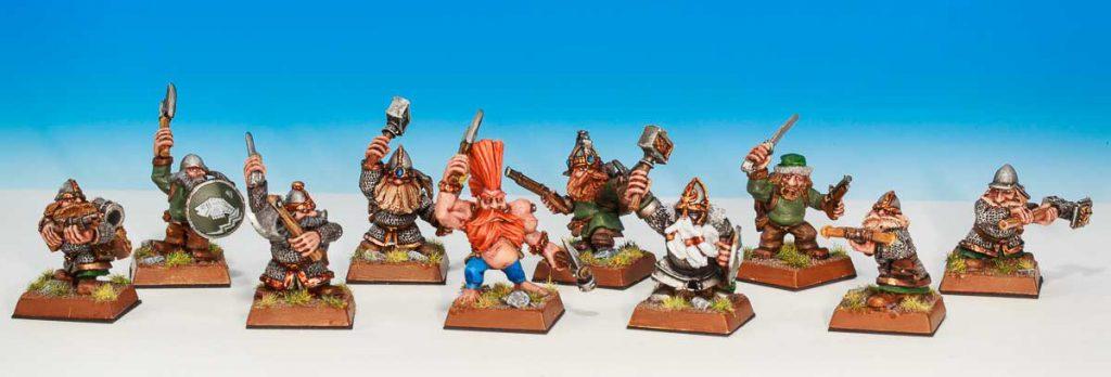 Mordheim cazadores de tesoros