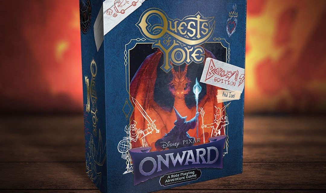 Onward Quests of Yore Barley's edition RPG Juego de rol Preventa