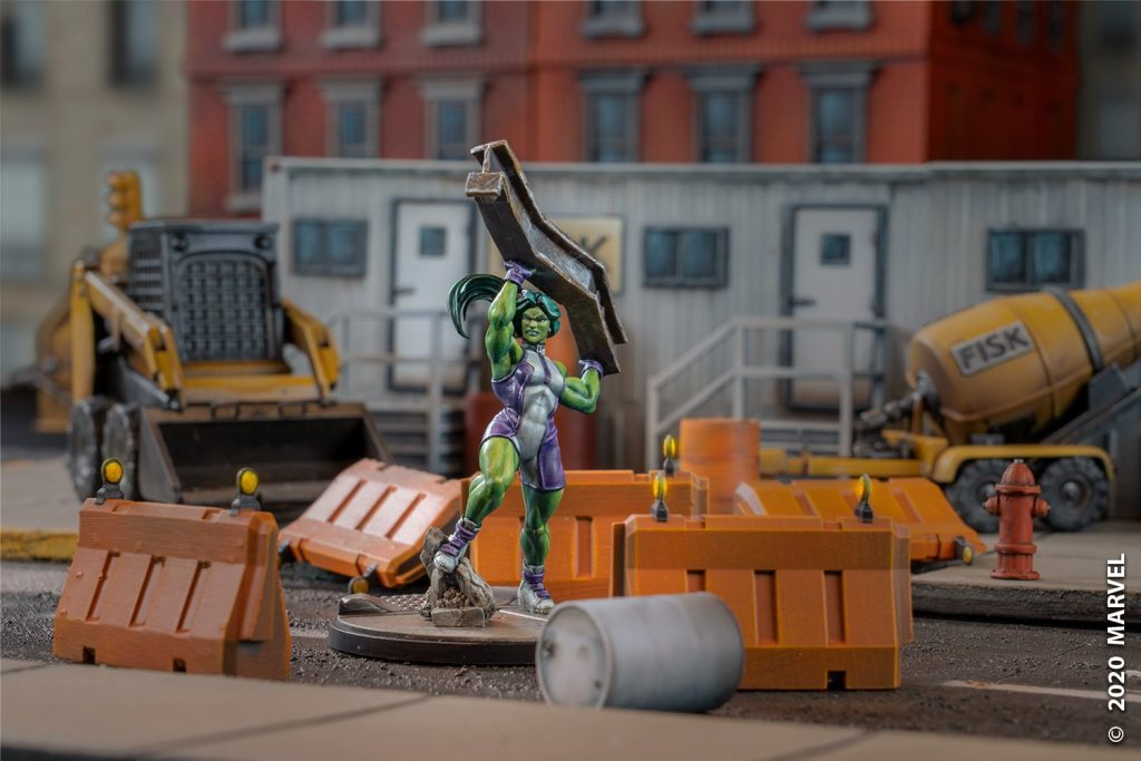 Marvel Crisis Protocol She-Hulk (Hulka)