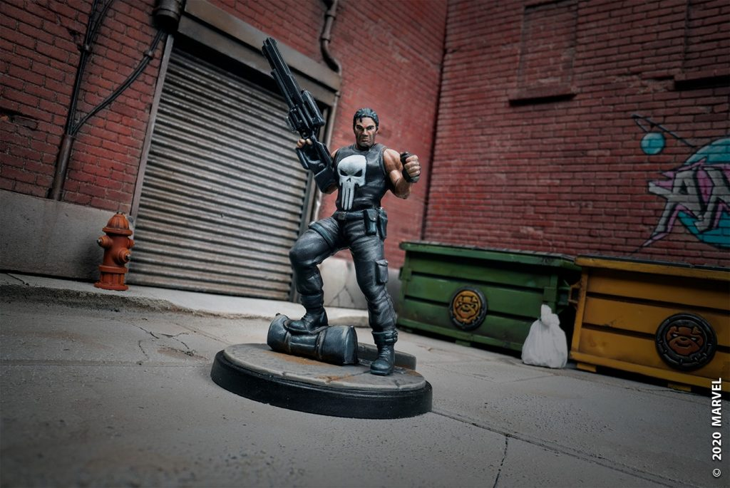 Atomic Mass Games Marvel Crisis Protocol The Punisher