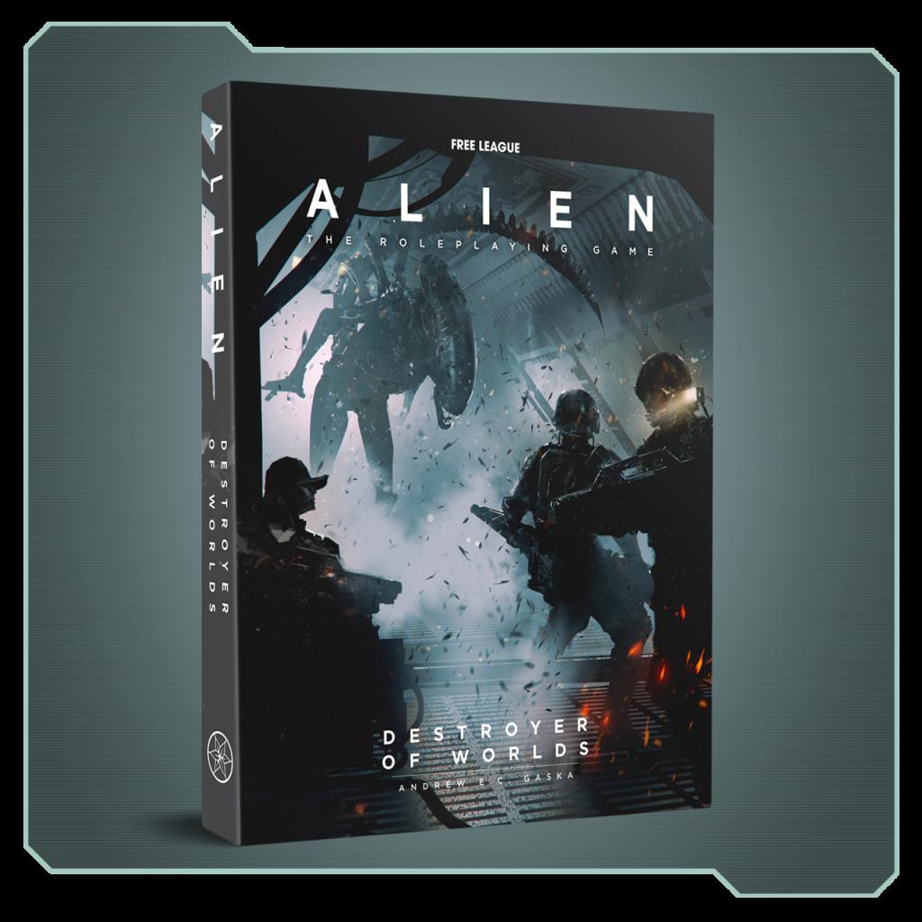 Alien RPG Juego de rol Módulo Destroyer of Worlds