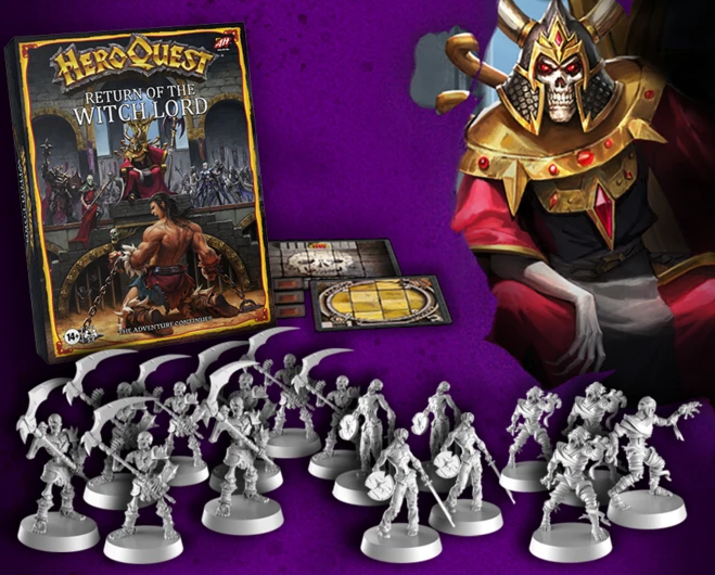 HeroQuest Expansión Return of the Witch Lord