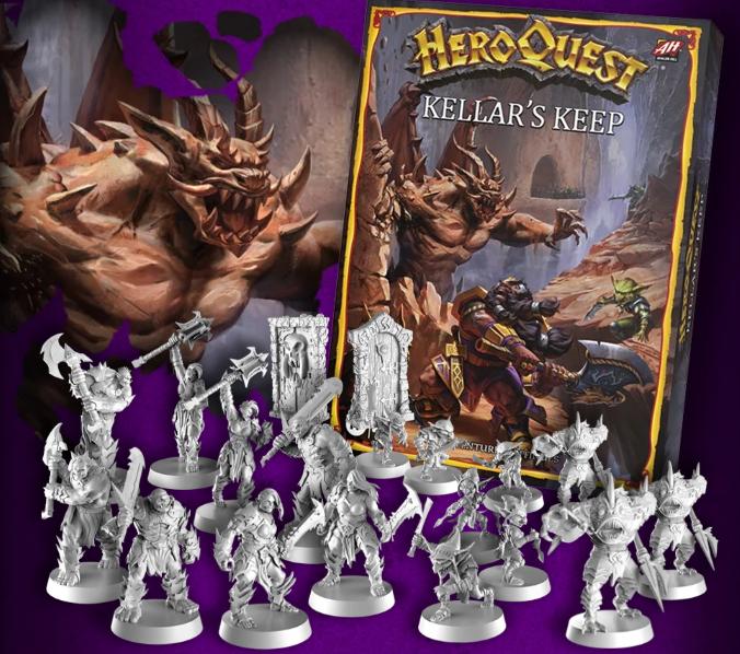 HeroQuest Kellar's Keep Expansión