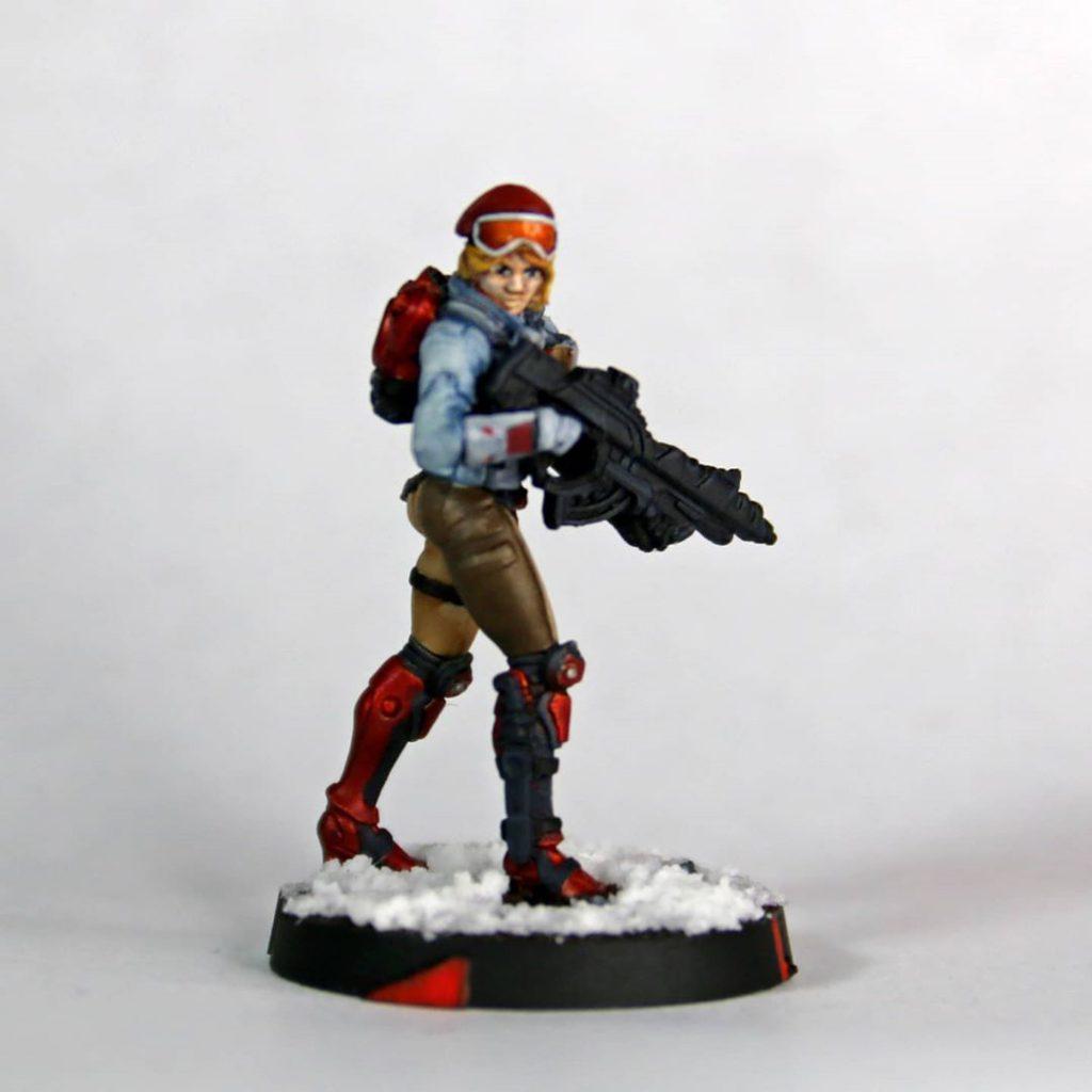 Infinity N4 Code One PanOceania Fusilier