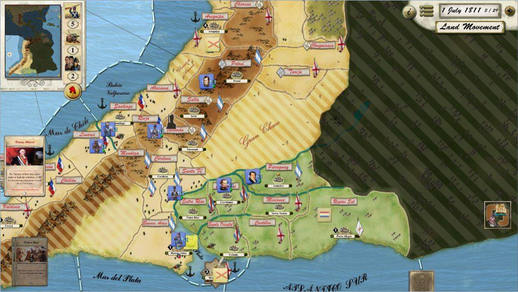Libertad o Muerte mapa