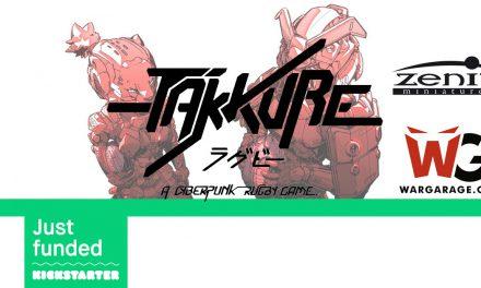 Takkure en Kickstarter. Un juego de mesa que nació como fan game