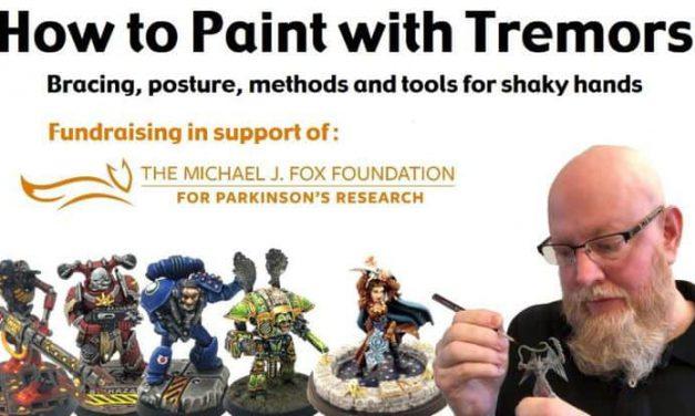 Cómo pintar miniaturas con temblores: técnicas y herramientas para manos temblorosas