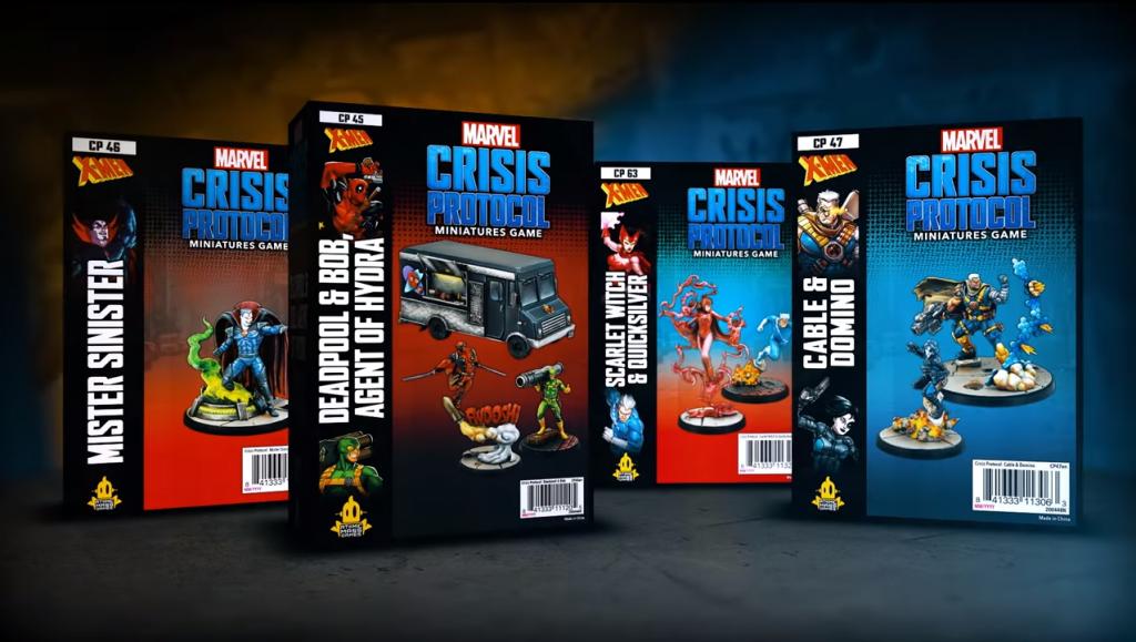 Atomic Mass Games Marvel Crisis Protocol cajas del lanzamiento paraq el segundo trimestre de 2021