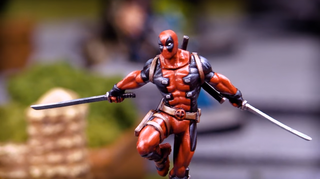 Atomic Mass Games Marvel Crisis Protocol Deadpool