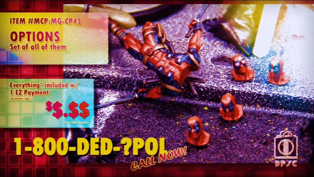 Atomic Mass Games Marvel Crisis Protocol Deadpool y sus cuatro cabezas para escoger