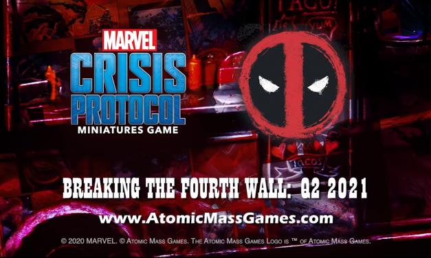 Marvel Crisis Protocol Rompe la Cuarta Pared con Deadpool, Cable, Bruja Escarlata y otros (HD)