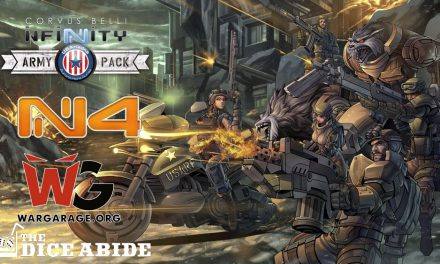 Primeras Impresiones USAriadna Ranger Force USARF Infinity N4