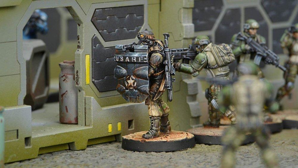 Infinity the game N4 Usariadna Usarf Ariadna ranger desconocido