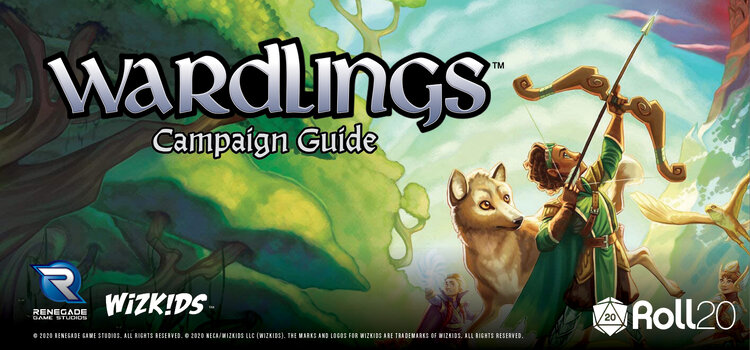 Wardlings juego de rol Renegade Game Studios