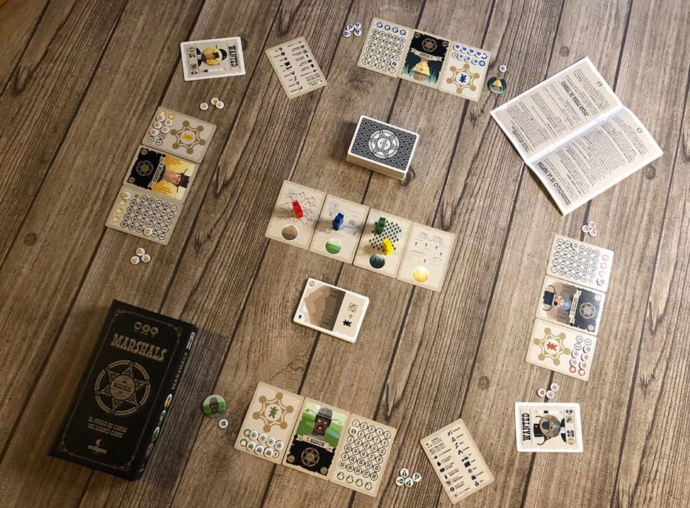 Marshals juego de cartas verkami eclipse editorial