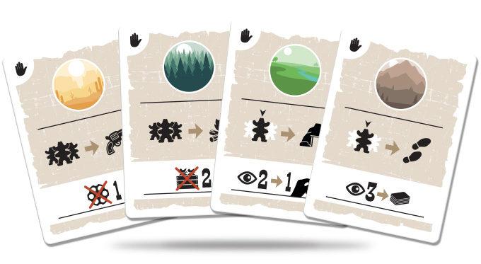Marshals juego de cartas verkami eclipse editorial Cartas de acción