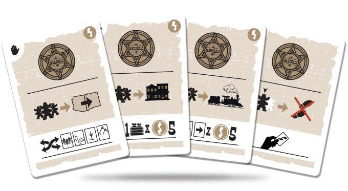 Marshals juego de cartas verkami eclipse editorial cartas de Eventos